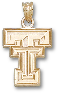 Texas Tech 10K Gold Pendant