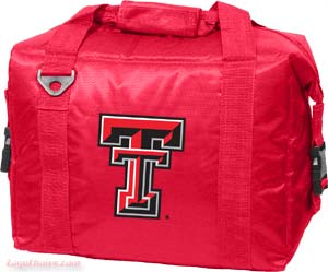 Texas Tech 12 Pack Cooler