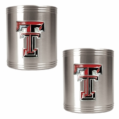 Texas Tech 2 Can Holder Set