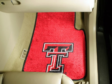 Texas Tech 2 Piece Car Mats