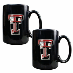 Texas Tech 2 Piece Coffee Mug Set