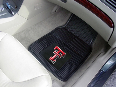 Texas Tech 2 Piece Heavy Duty Vinyl Car Mats