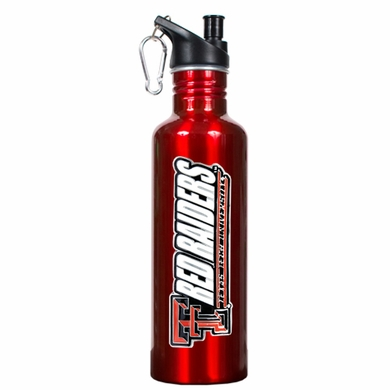 Texas Tech 26oz Stainless Steel Water Bottle (Team Color)