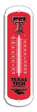 Texas Tech 27 Inch Outdoor Thermometer (P)