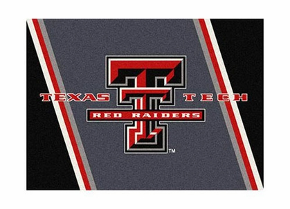 "Texas Tech 3'10"" x 5'4"" Premium Spirit Rug"