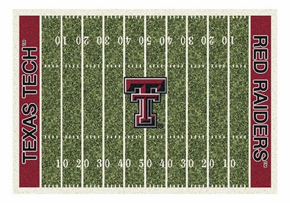 "Texas Tech 5'4"" x 7'8"" Premium Field Rug"