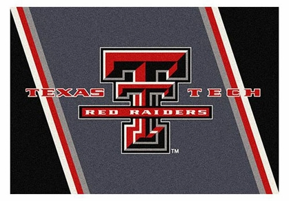 "Texas Tech 5'4"" x 7'8"" Premium Spirit Rug"