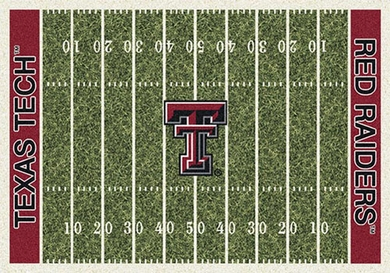 "Texas Tech 7'8"" x 10'9"" Premium Field Rug"