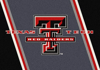 "Texas Tech 7'8"" x 10'9"" Premium Spirit Rug"
