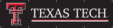 Texas Tech 8 Foot Banner
