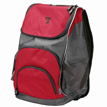 Texas Tech Action Backpack (Color: Red)