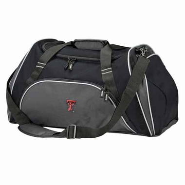 Texas Tech Action Duffle (Color: Black)