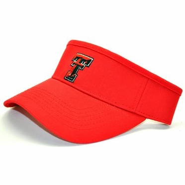 Texas Tech Adjustable Birdie Visor