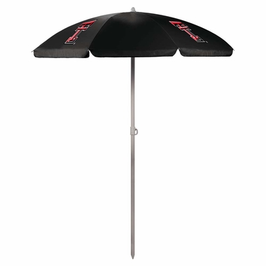 Texas Tech Beach Umbrella (Black)