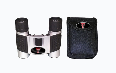 Texas Tech Binoculars and Case