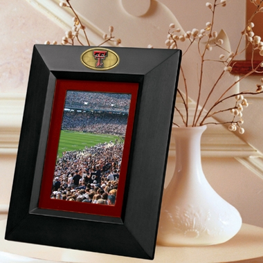 Texas Tech BLACK Portrait Picture Frame