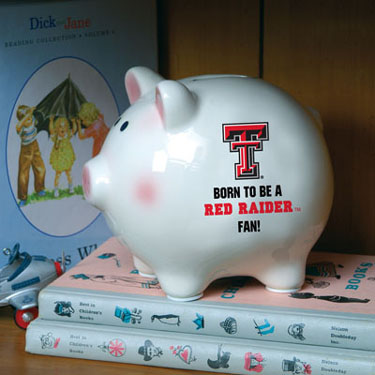 Texas Tech (Born to Be) Piggy Bank