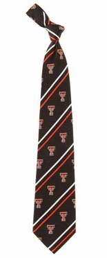 Texas Tech Cambridge Woven Silk Necktie