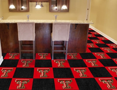 Texas Tech Carpet Tiles