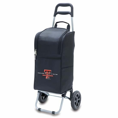Texas Tech Cart Cooler (Black)