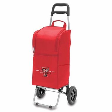 Texas Tech Cart Cooler (Red)