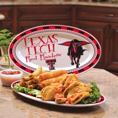 Texas Tech Ceramic Platter