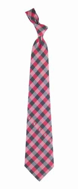 Texas Tech Check Poly Necktie