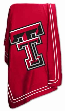 Texas Tech Classic Fleece Throw Blanket