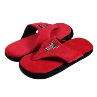 Texas Tech Comfy Flop Sandal Slippers - Small