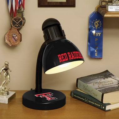 Texas Tech Dorm Lamp