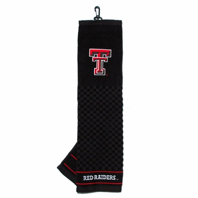 Texas Tech Embroidered Golf Towel