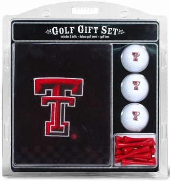 Texas Tech Embroidered Towel Gift Set