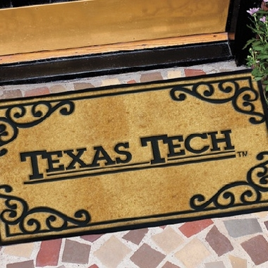 Texas Tech Exterior Door Mat