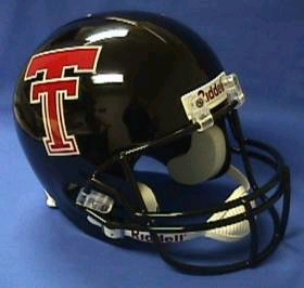 Texas Tech Full Sized Replica Helmet