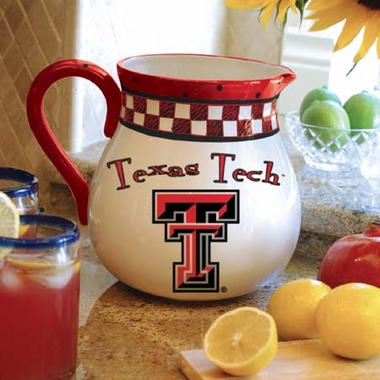 Texas Tech Gameday Ceramic Pitcher