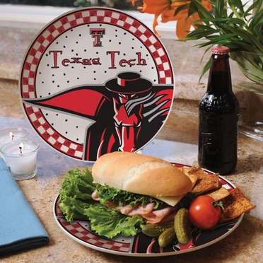 Texas Tech Gameday Ceramic Plate
