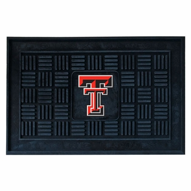 Texas Tech Heavy Duty Vinyl Doormat