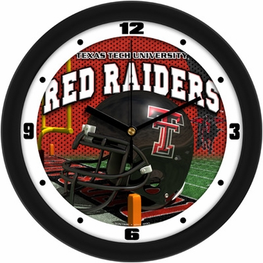 Texas Tech Helmet Wall Clock