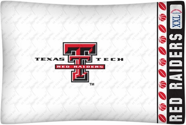 Texas Tech Individual Pillowcase