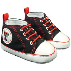 Texas Tech Infant Soft Sole Shoe - 0-3 Months