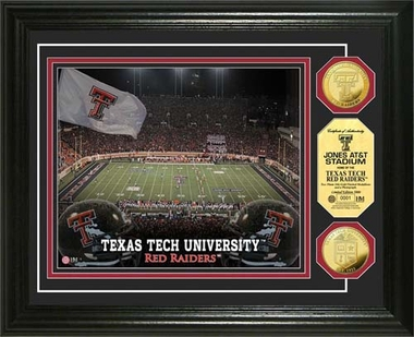 Texas Tech Red Raiders Texas Tech University Gold Coin Photo Mint