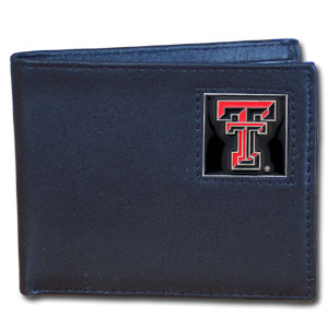 Texas Tech Leather Bifold Wallet (F)