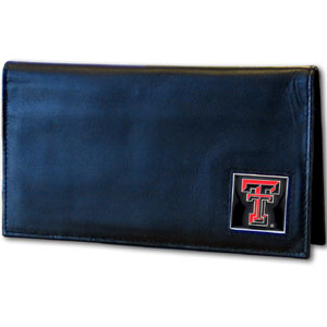 Texas Tech Leather Checkbook Cover (F)