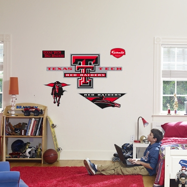 Texas Tech Logo Fathead Wall Graphic