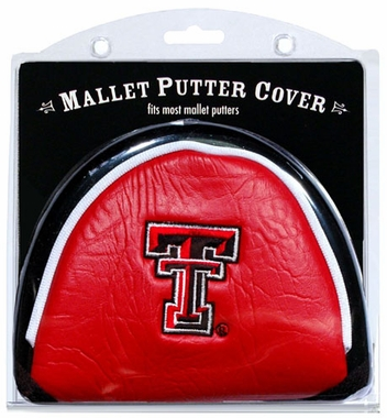 Texas Tech Mallet Putter Cover
