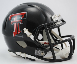 Texas Tech Mini Replica Helmet
