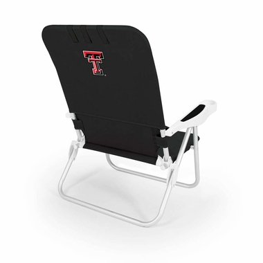 Texas Tech Monaco Beach Chair (Black)