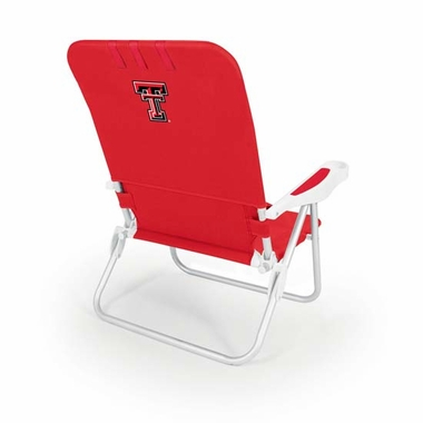 Texas Tech Monaco Beach Chair (Red)