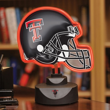 Texas Tech Neon Display Helmet