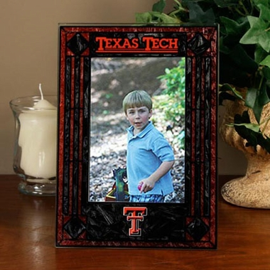 Texas Tech Portrait Art Glass Picture Frame